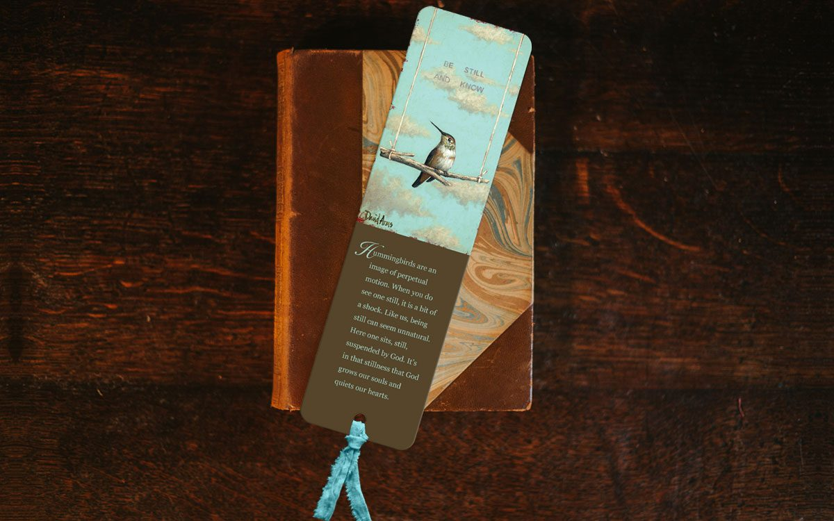 be-still-and-know-bookmark-product-gallery-image-lifestyle