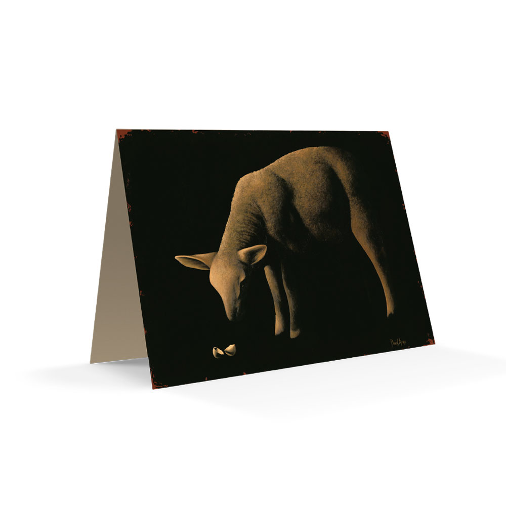 Behold The Lamb Notecard Product Image Hover