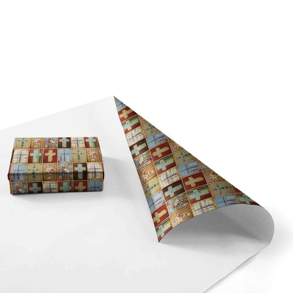 crosses-wrapping-paper-product-image-box-wrapped-single-sheet
