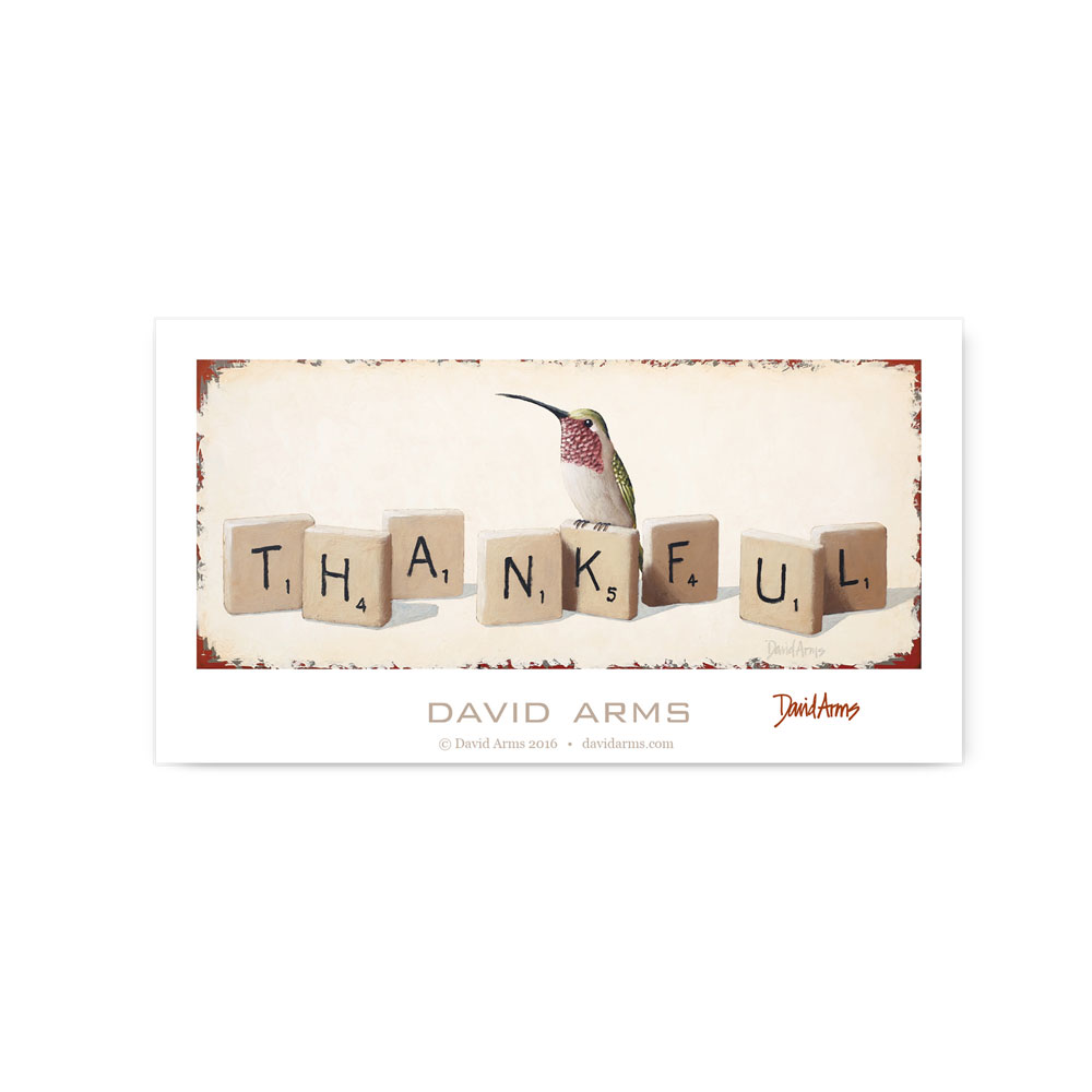 """Thankful"" Poster"