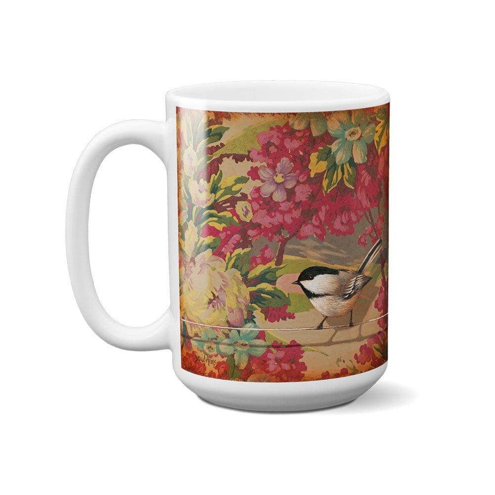 """""""Trust"""" (Floral) Mug"""