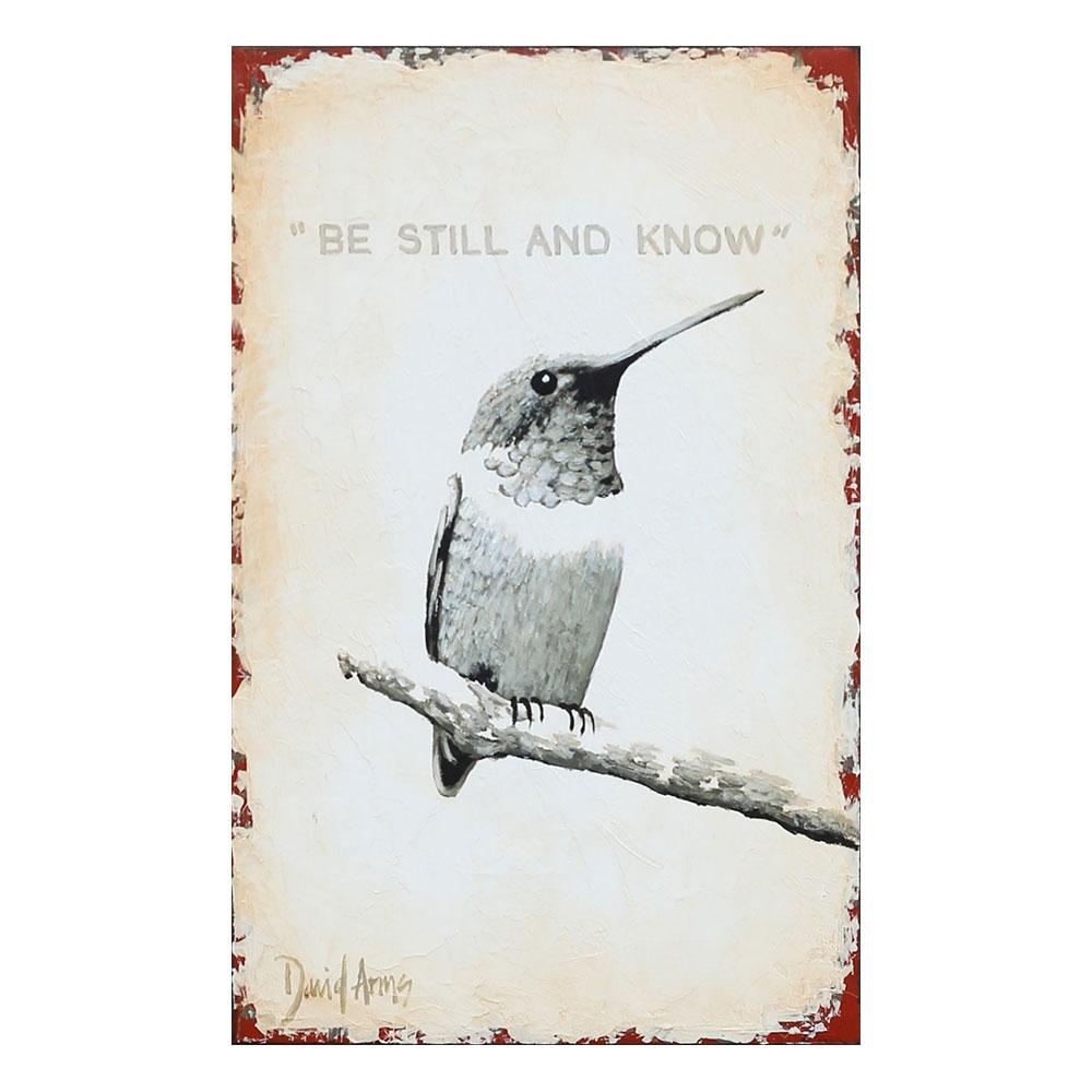 Be Still & Know • 7×11