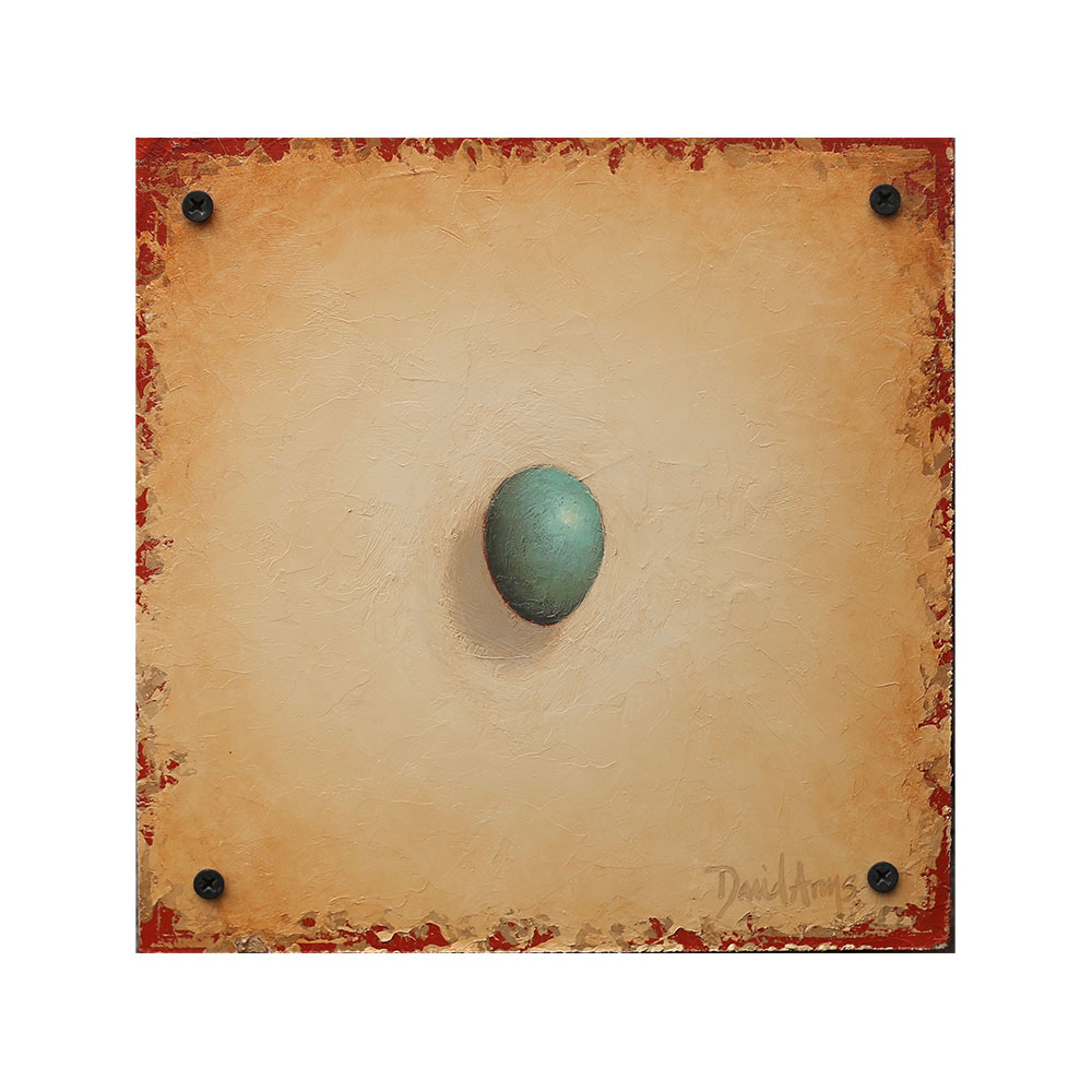 Hope – Bluebird Egg • 8.5×8