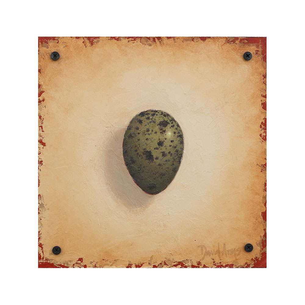 Hope – Crow Egg • 8.5×8.5