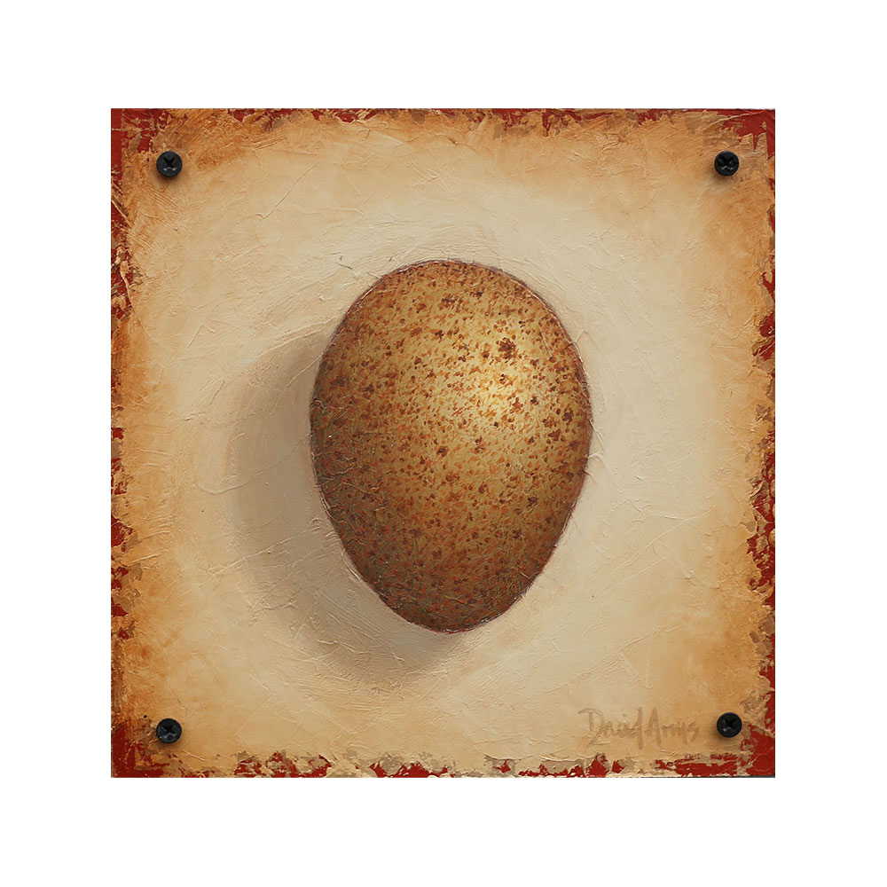 Hope – Wild Turkey Egg • 8.5×8.5
