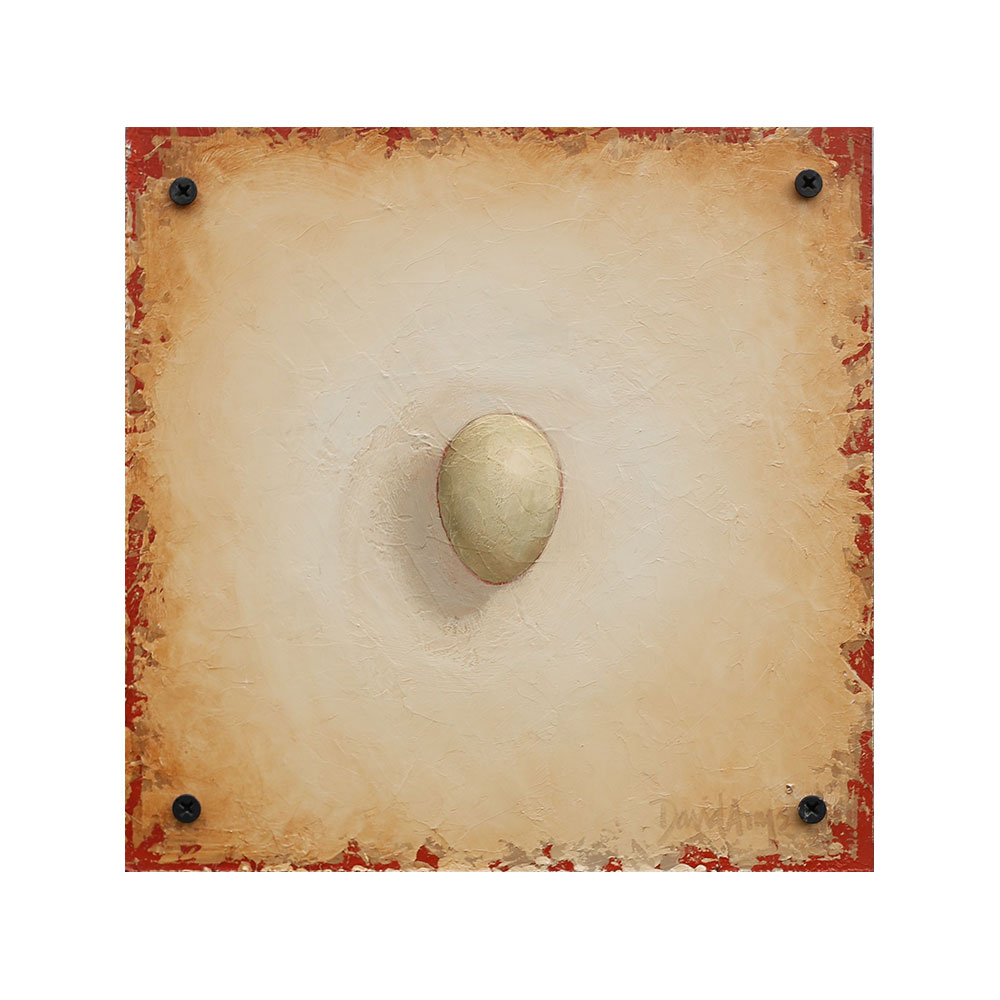 Hope – Woodpecker Egg • 8.5×8