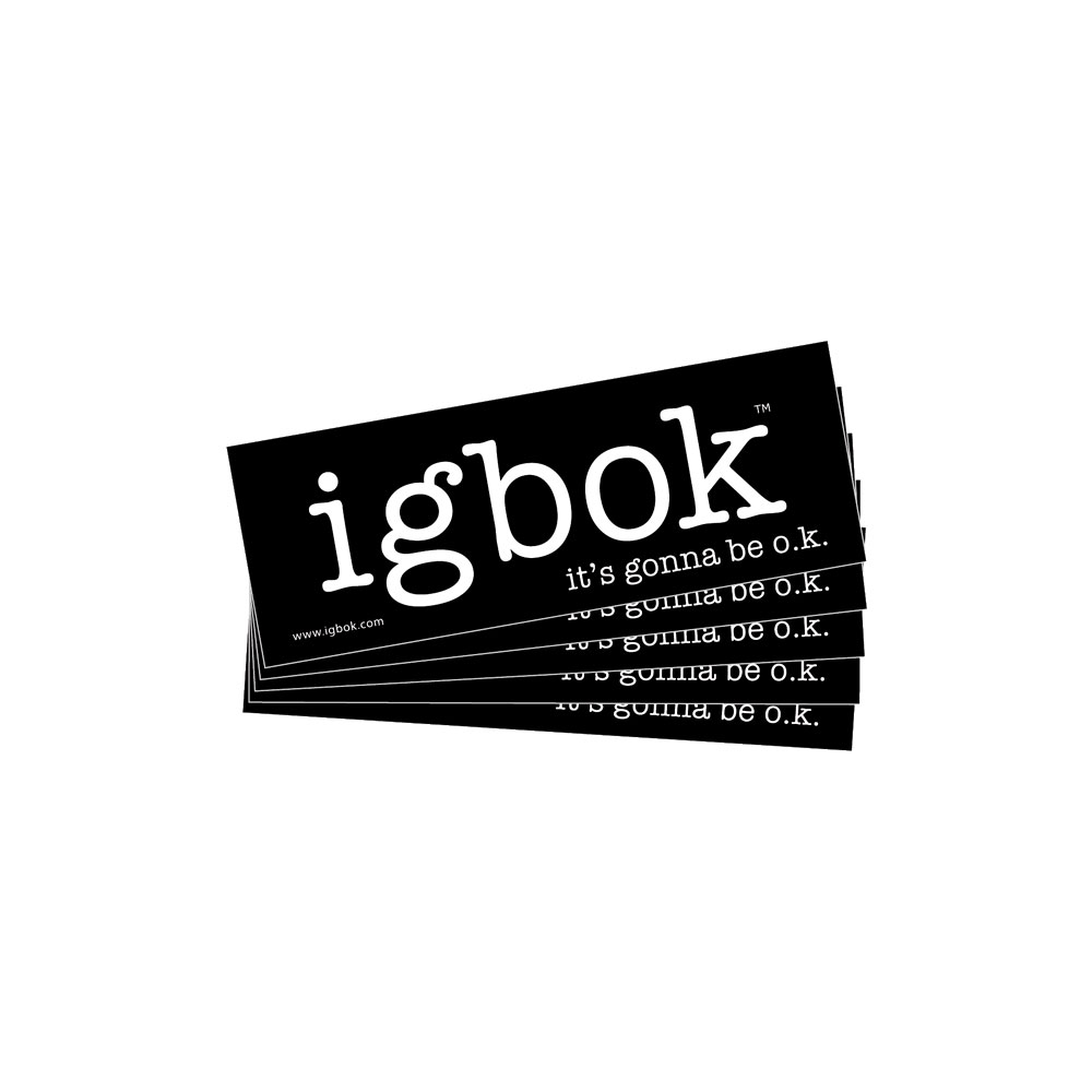 Igbok® Bumper Stickers