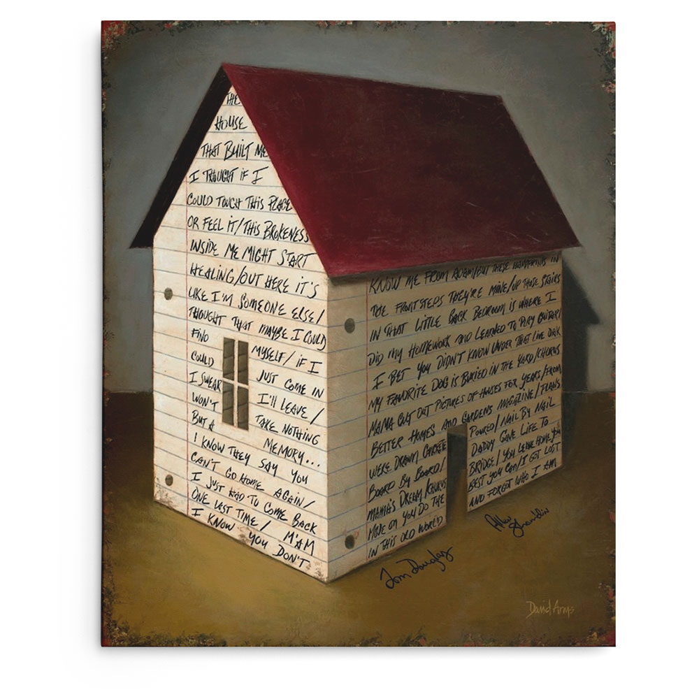 """The House That Built Me"" Gicleé"