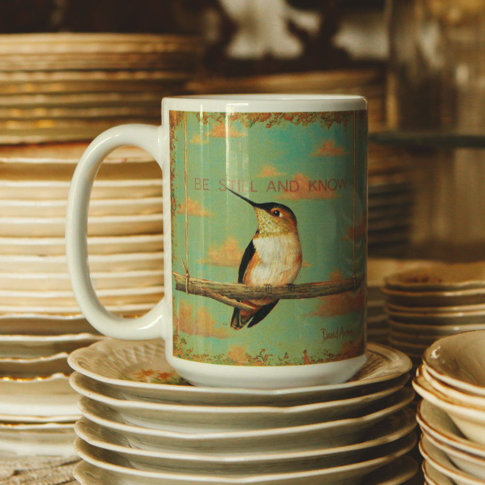 """Be Still And Know"" Mug"