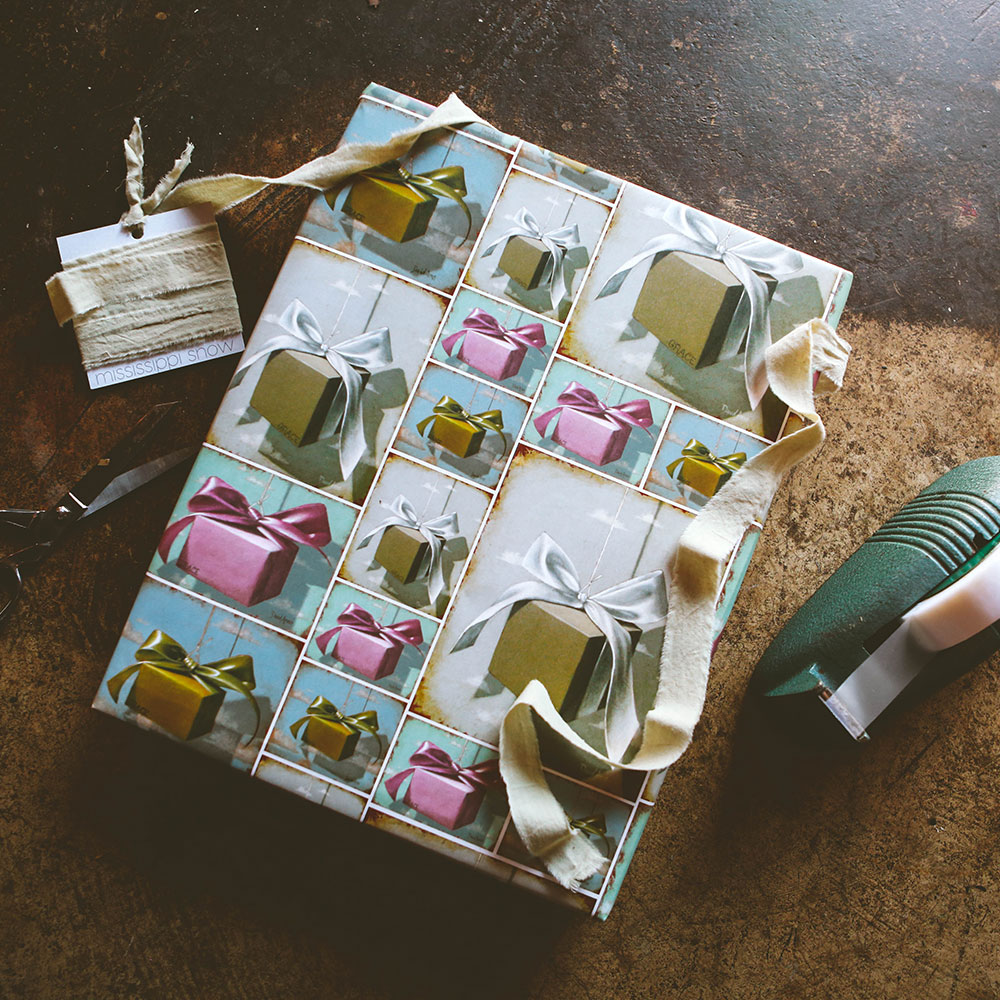 """Gifts"" Wrapping Paper"