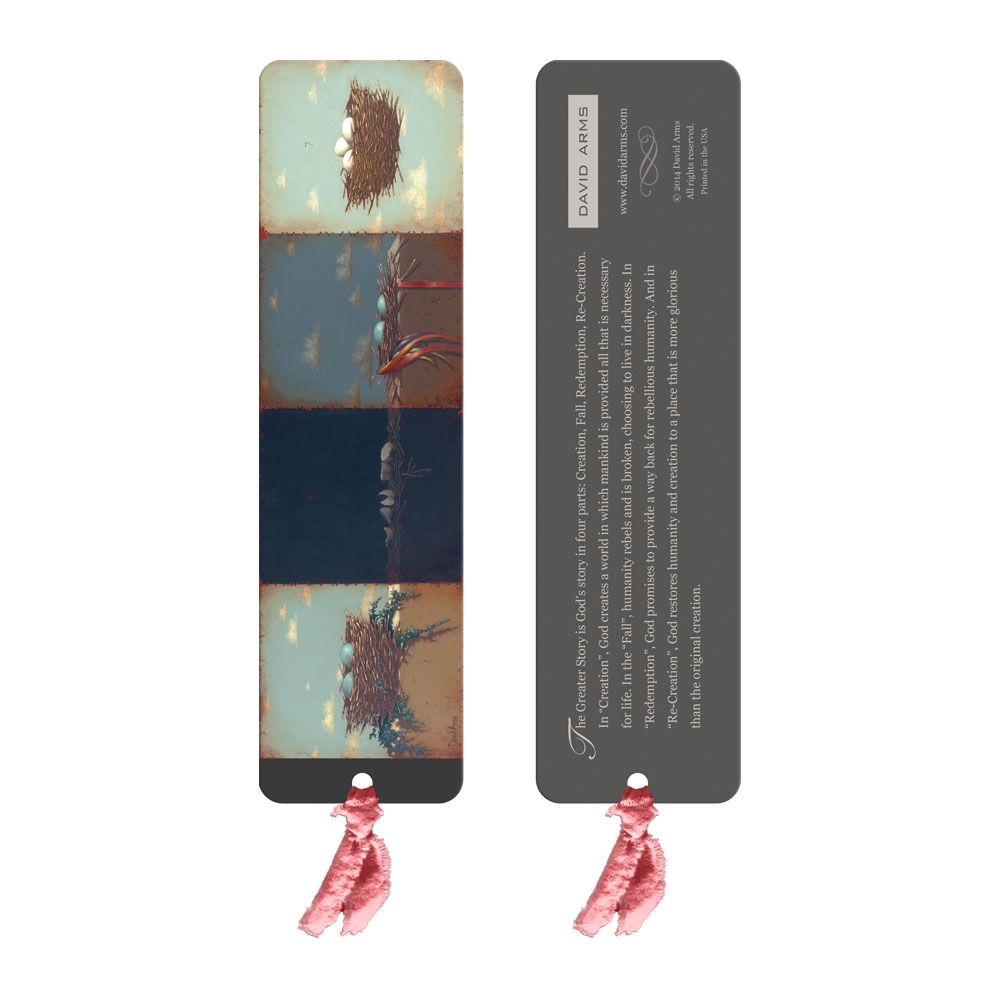"""The Greater Story"" Bookmark"