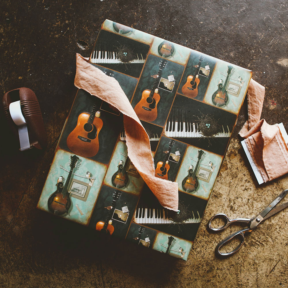 """Music"" Wrapping Paper"