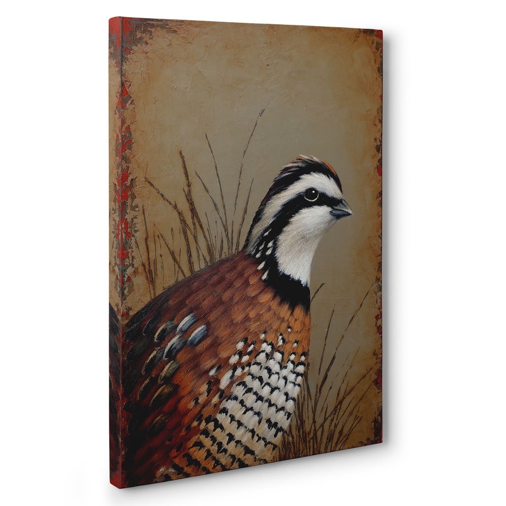Quail Giclee Product Image Angled