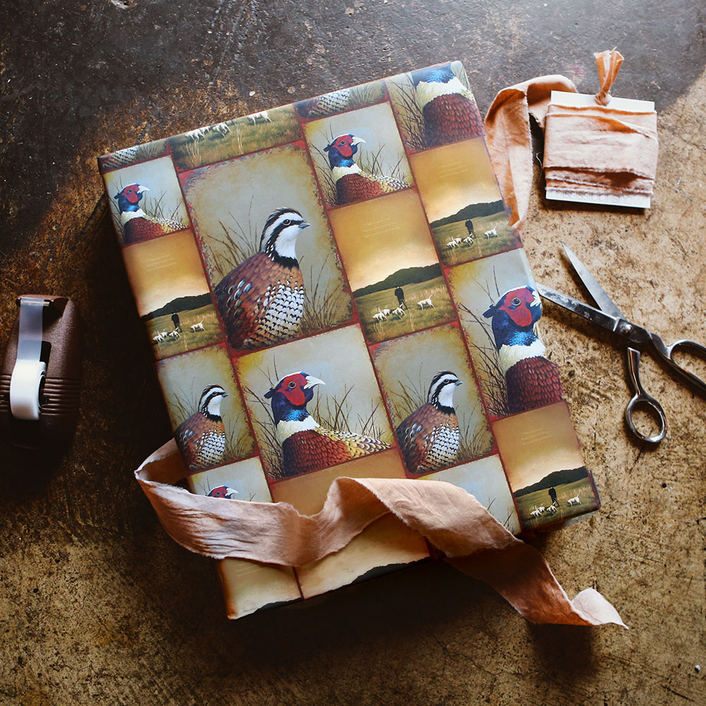"""Hunting"" Wrapping Paper"