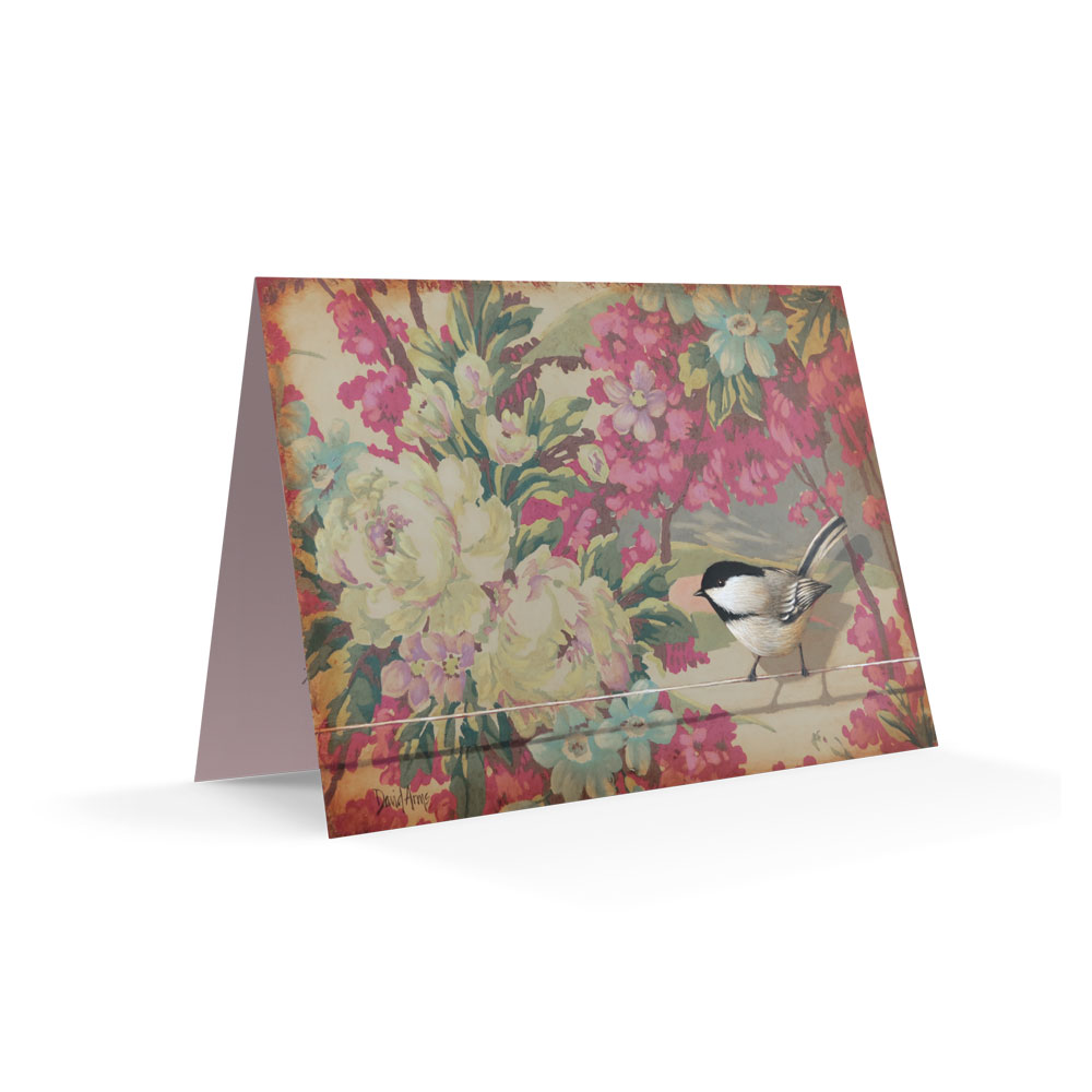 """Trust"" (Floral) Notecards"