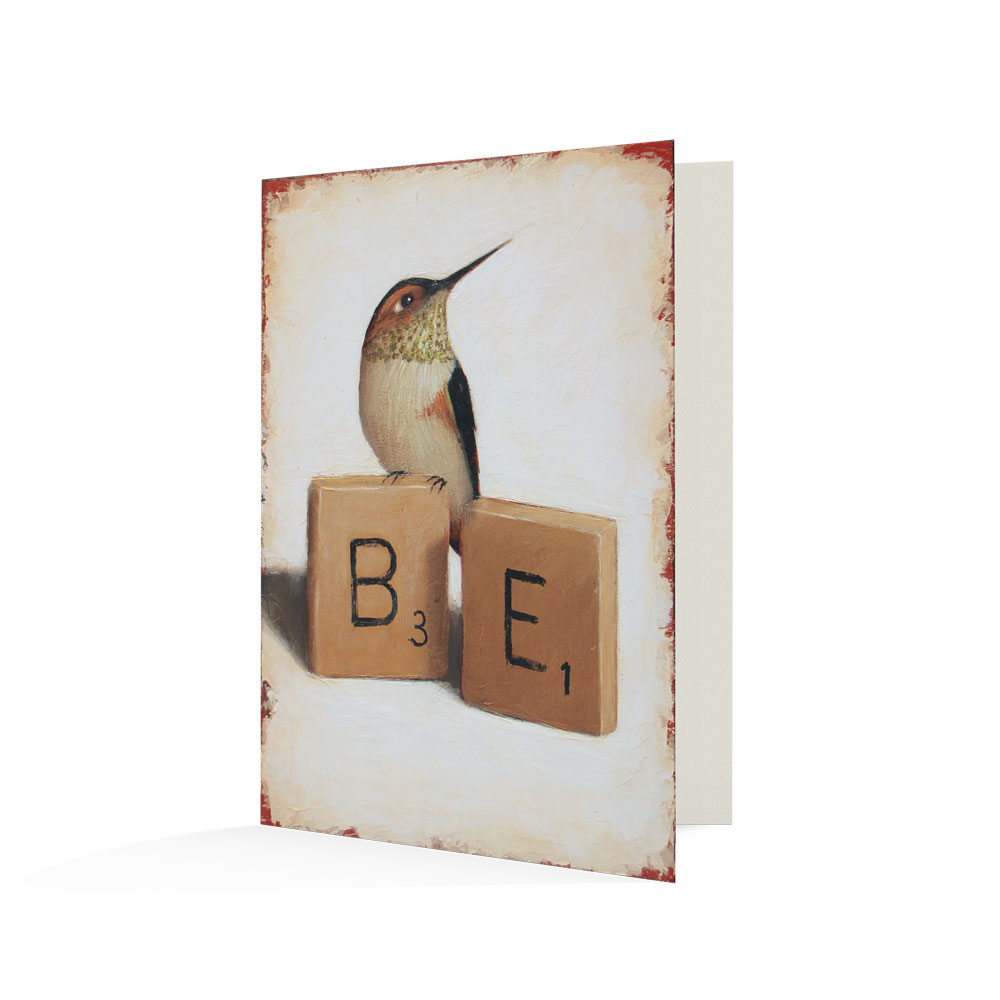 """Be"" Notecards"