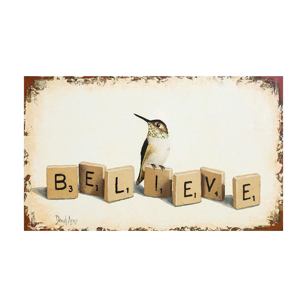 Believe • 9×15