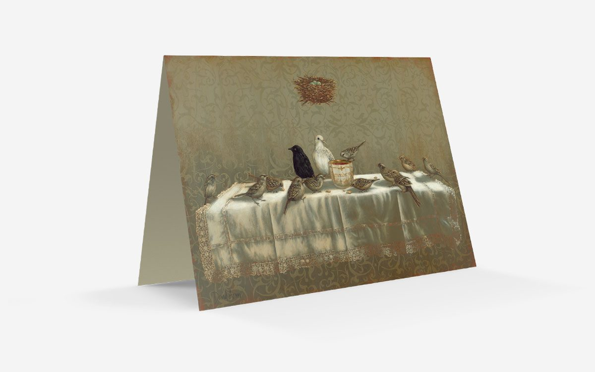 last-supper-notecard-product-gallery-image-front-folded