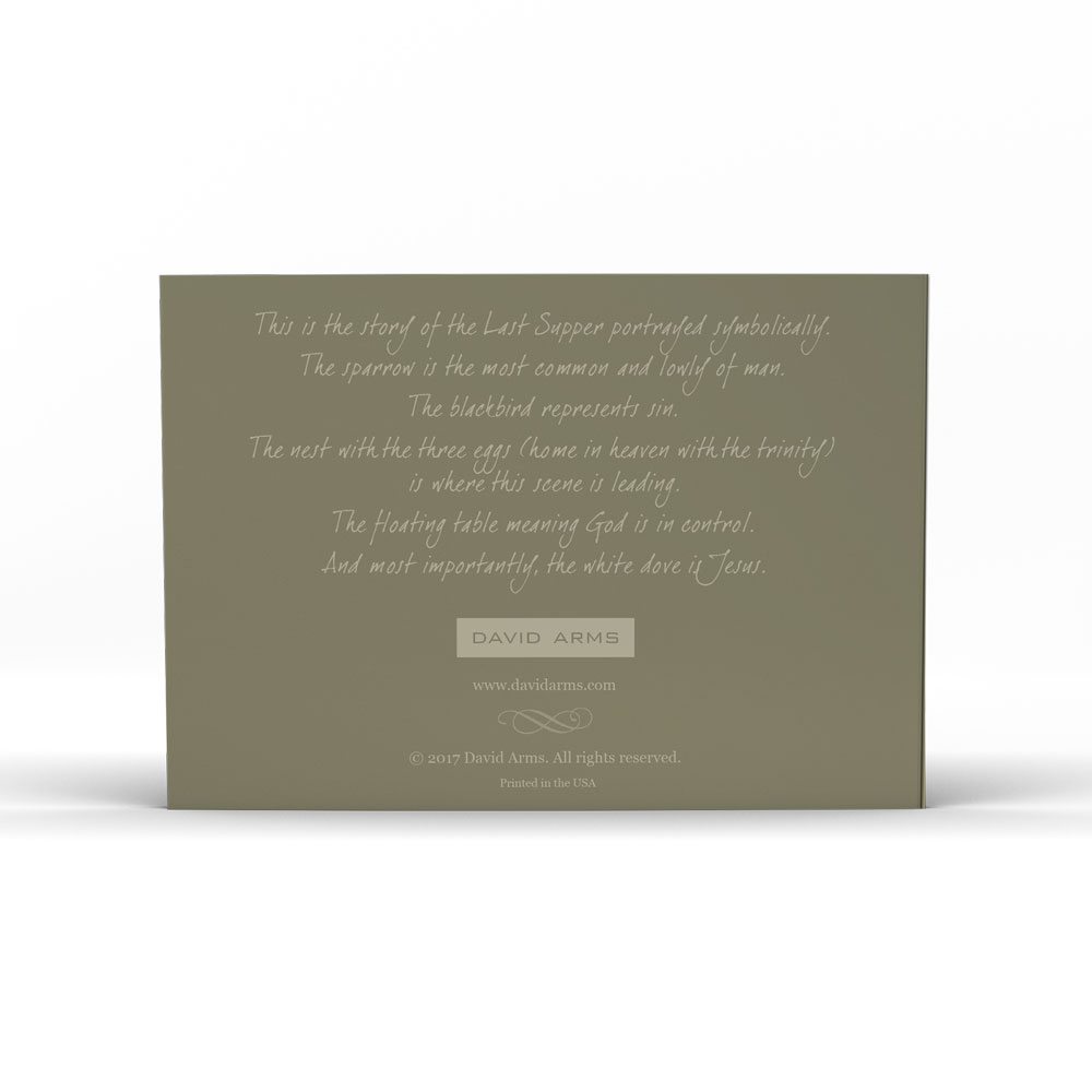 last-supper-notecard-product-image-back