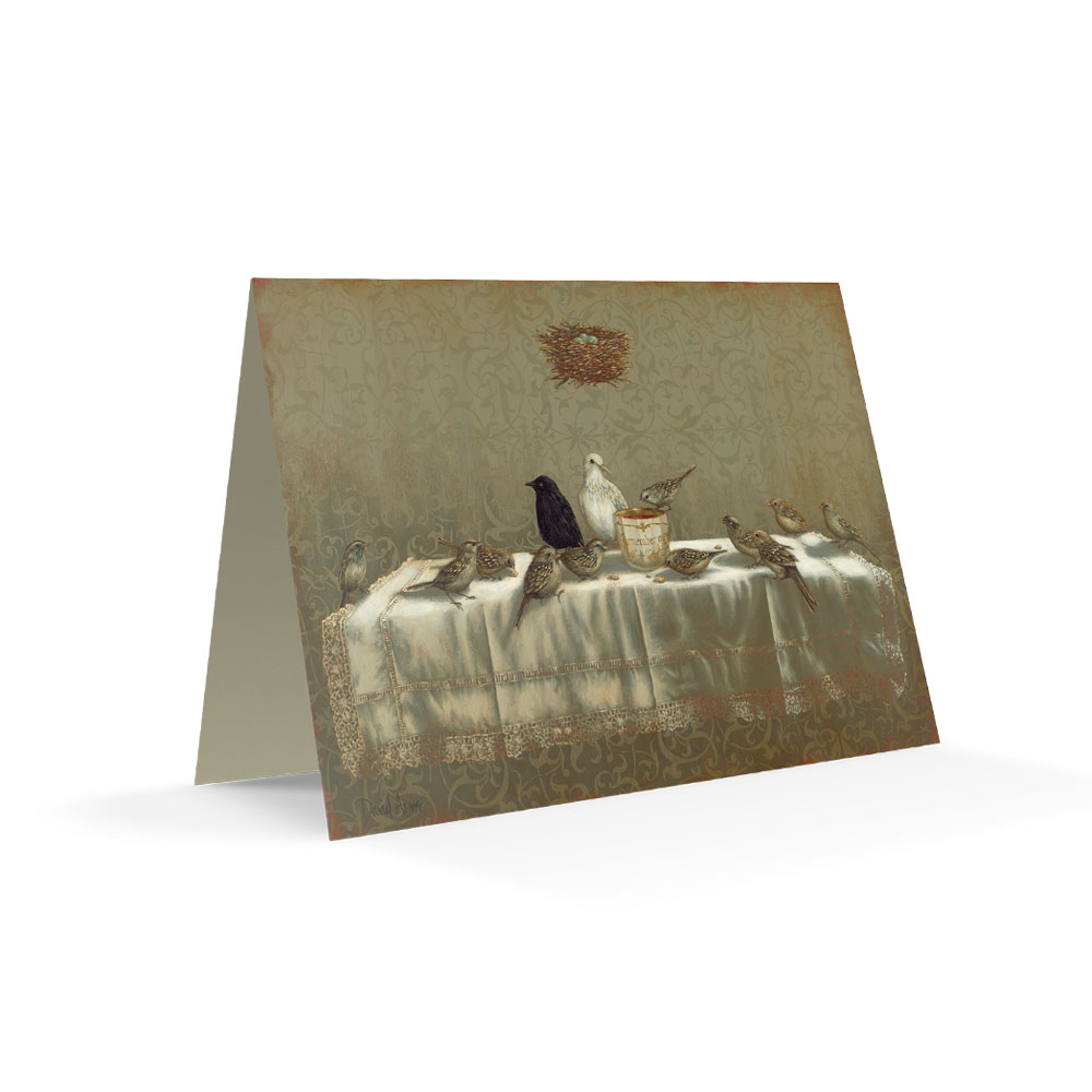 Last Supper Notecard Product Image Hover