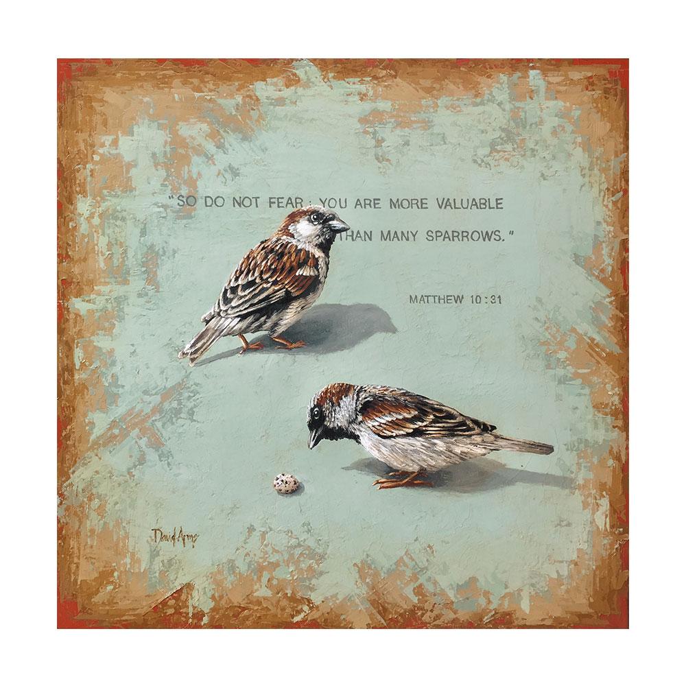 Sparrows • 19×19
