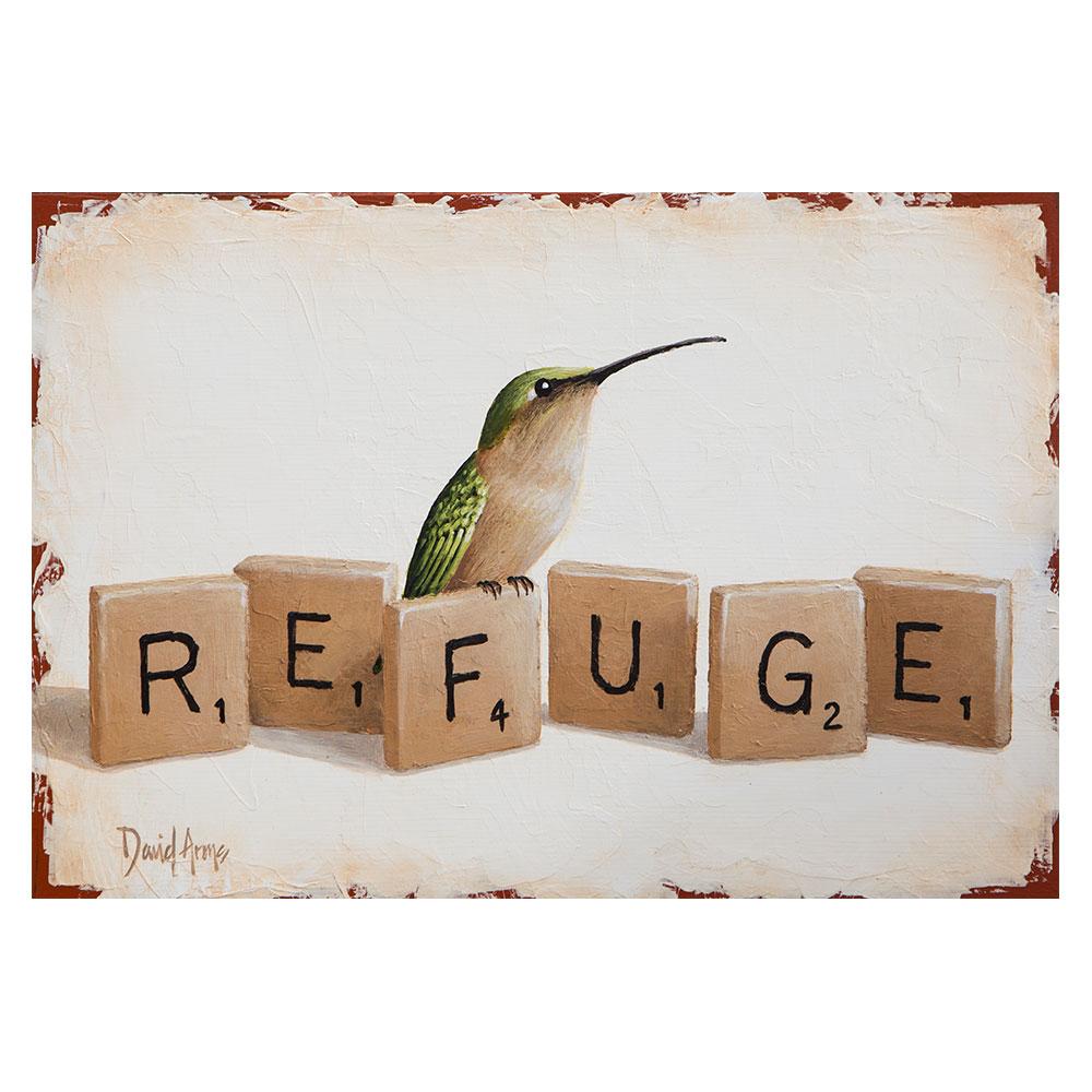 Refuge • 9×13