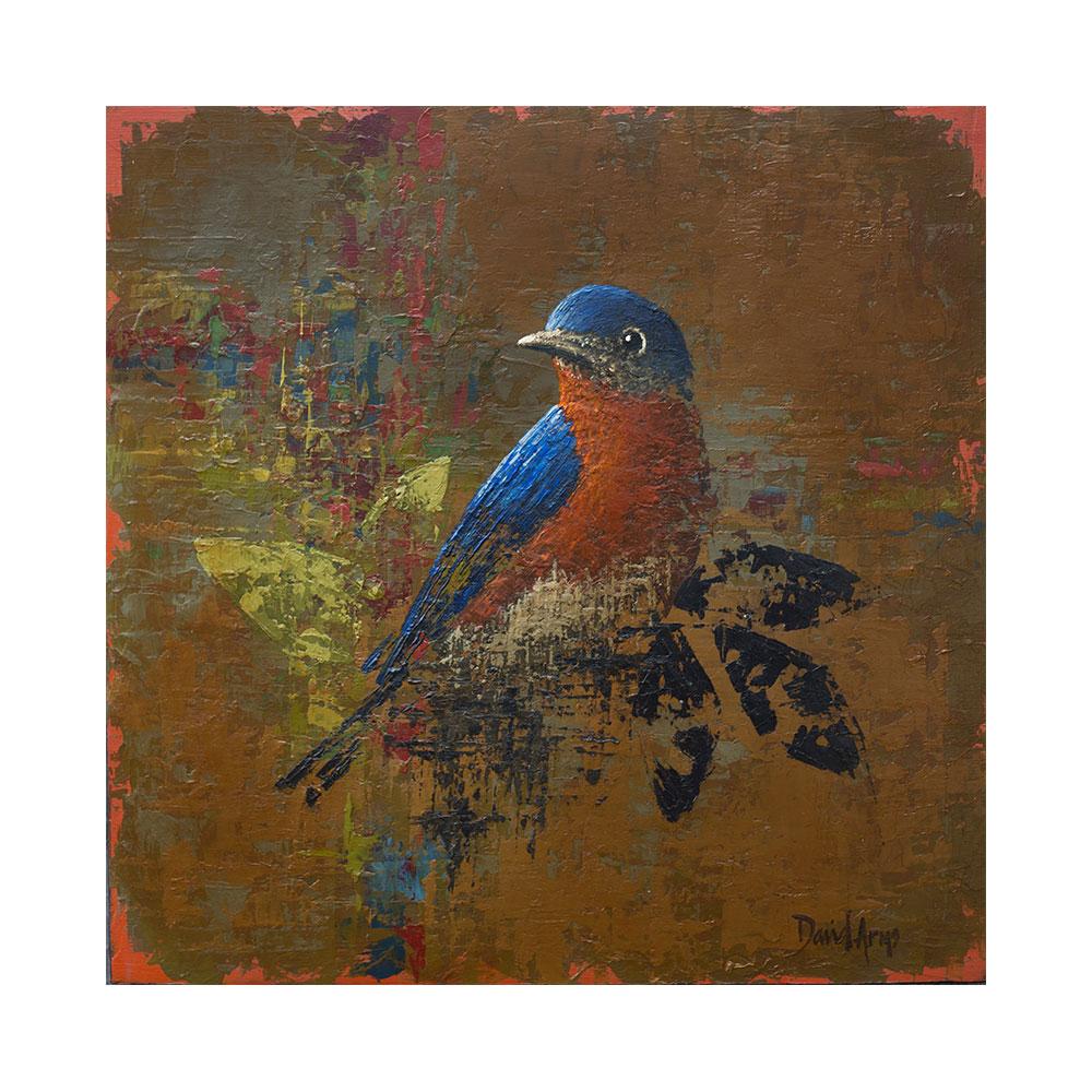 Bluebird • 12×12