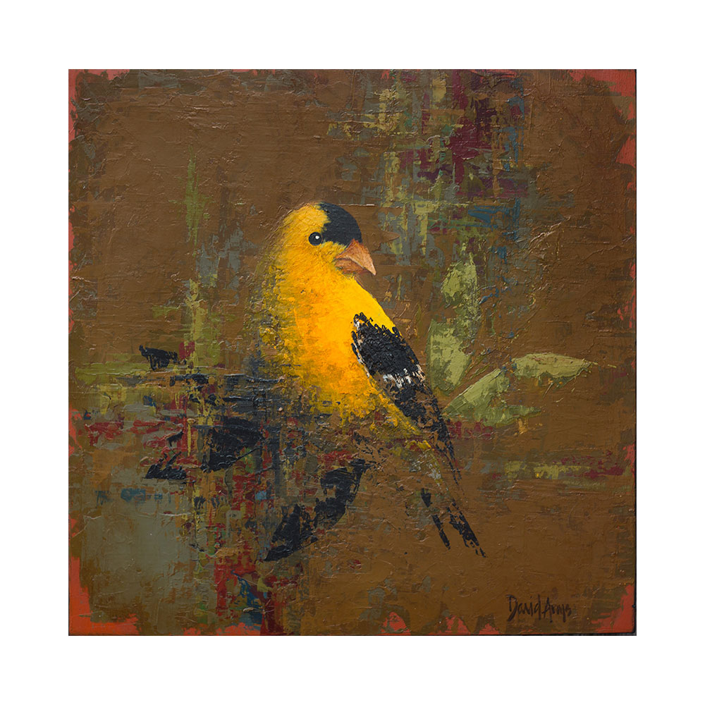 Goldfinch • 12×12