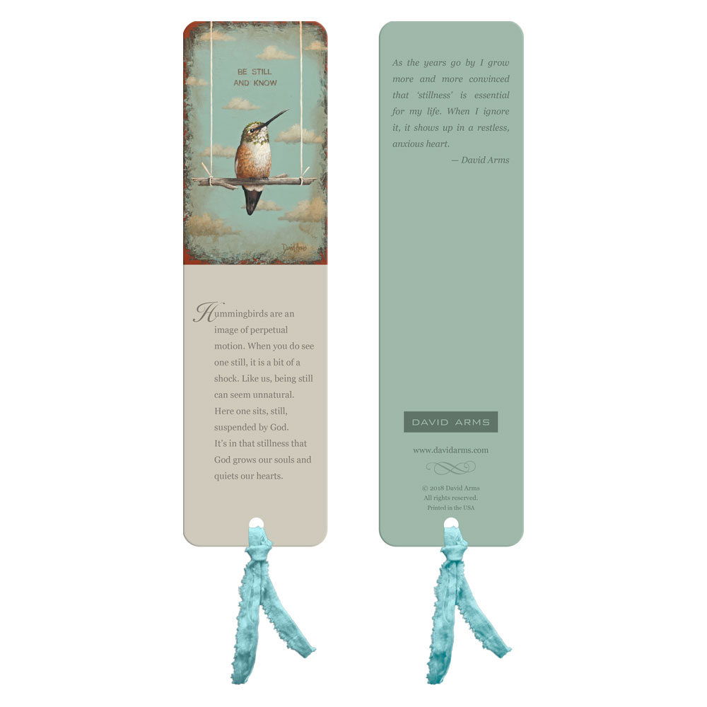 """Be Still And Know"" Bookmark"