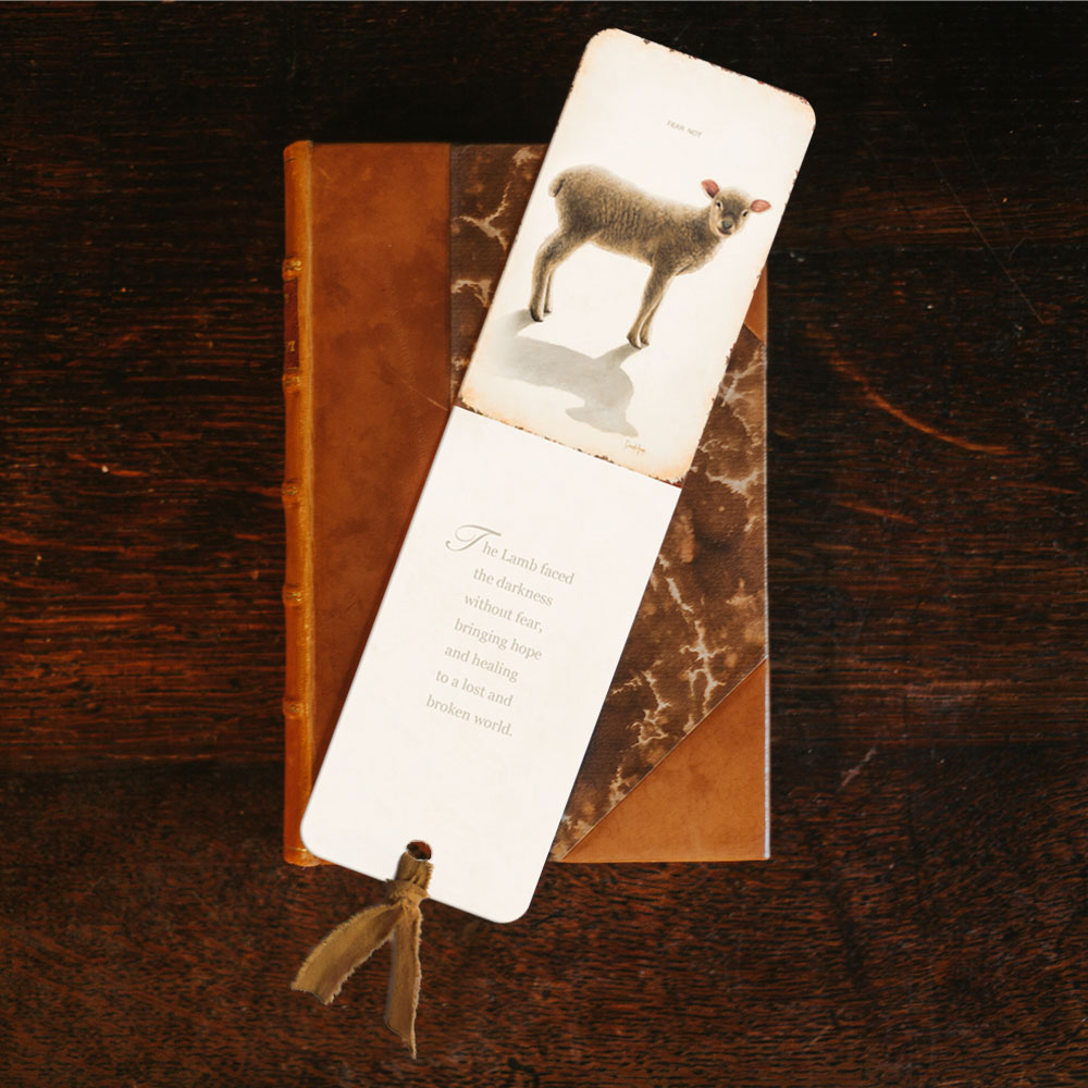 fear-not-lamb-bookmark-product-image