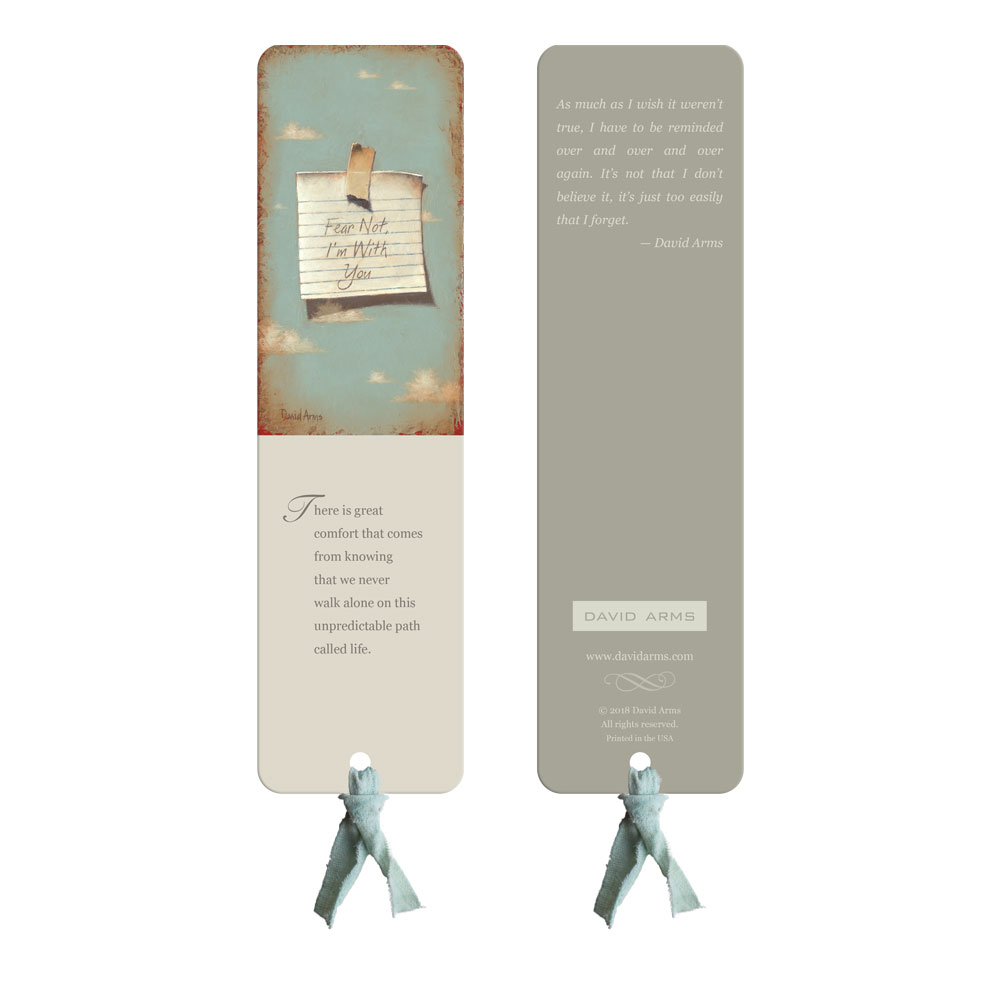 """Heaven's Little Reminder"" Bookmark"