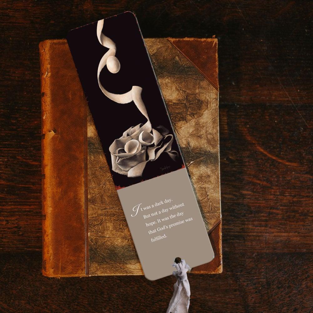 """""""Risen"""" Bookmark"""