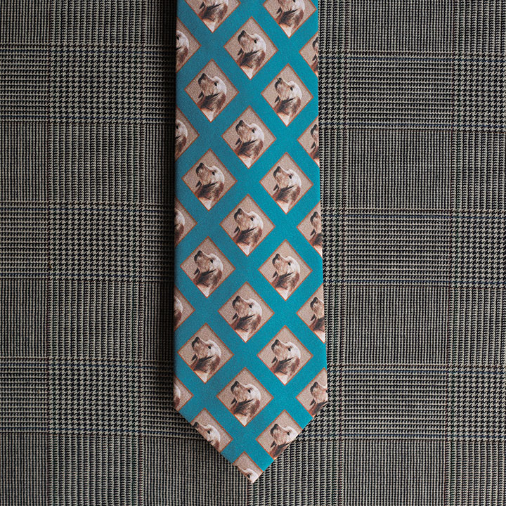Dog Necktie (Blue)