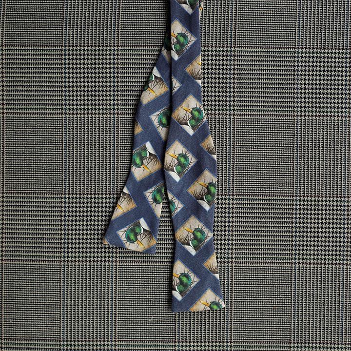 Mallard Bow Tie (Blue)