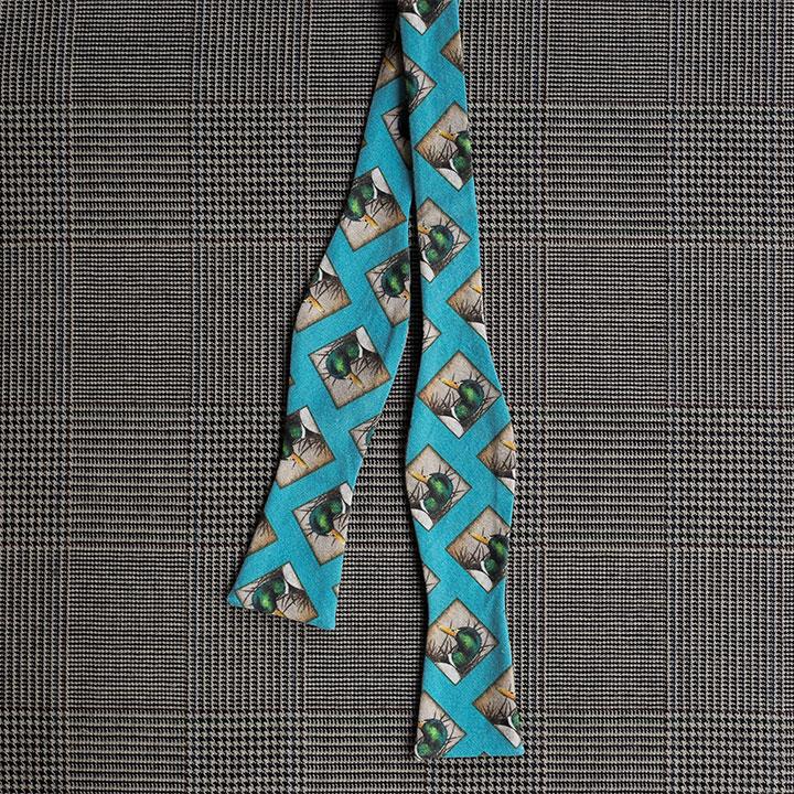 Mallard Bow Tie (Teal)