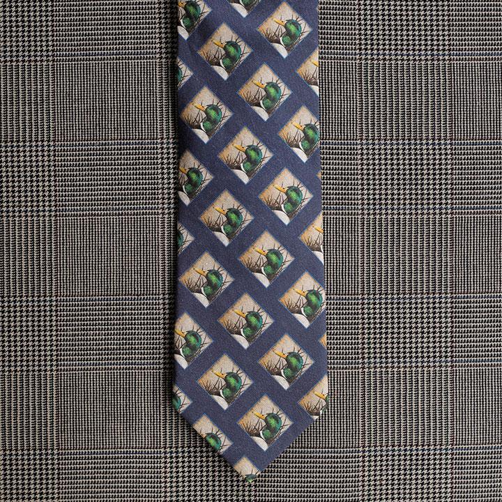 Mallard Necktie (Blue)
