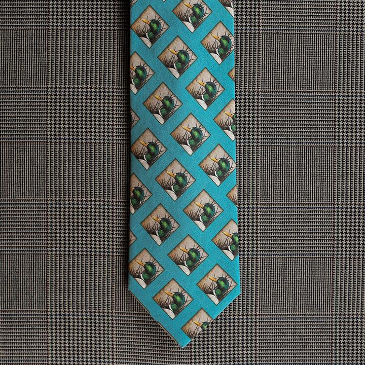 Mallard Necktie (Teal)