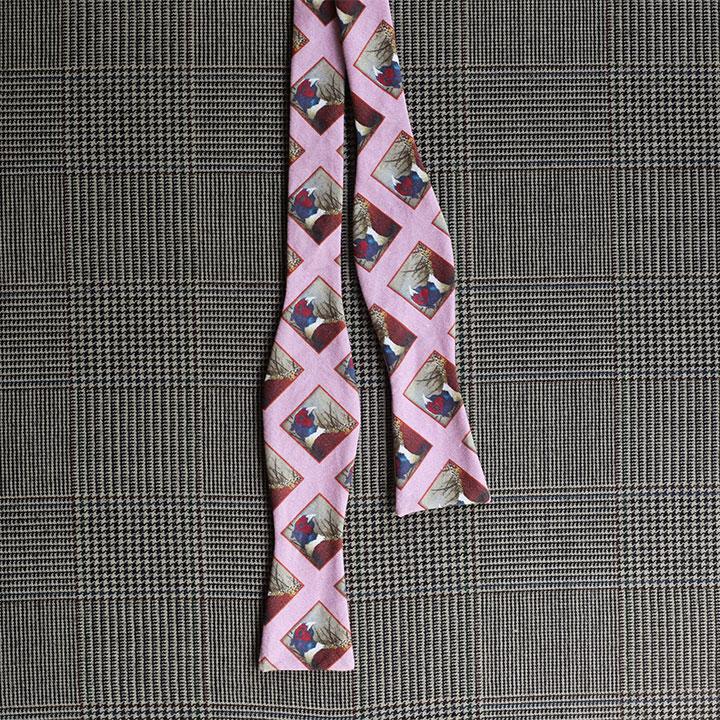 Pheasant Bow Tie (Lavender)