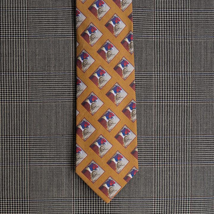 Pheasant Necktie (Gold)