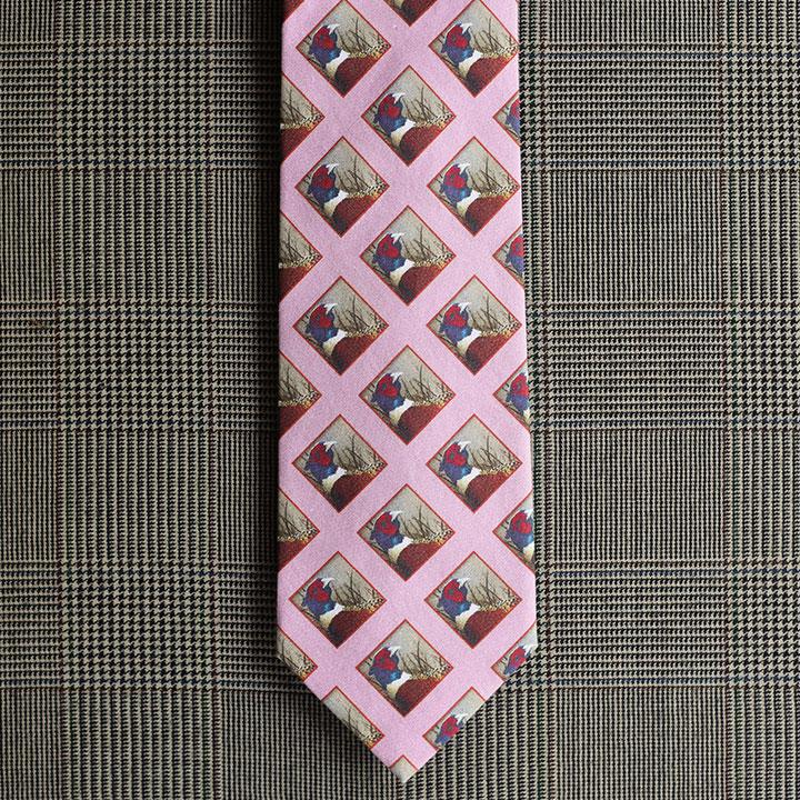 Pheasant Necktie (Lavender)
