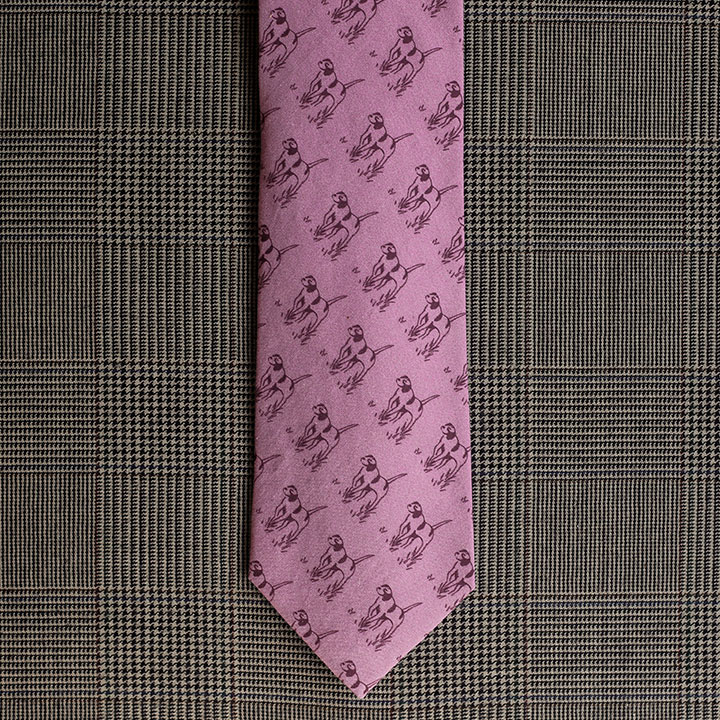 Pointer Necktie (Lavender)