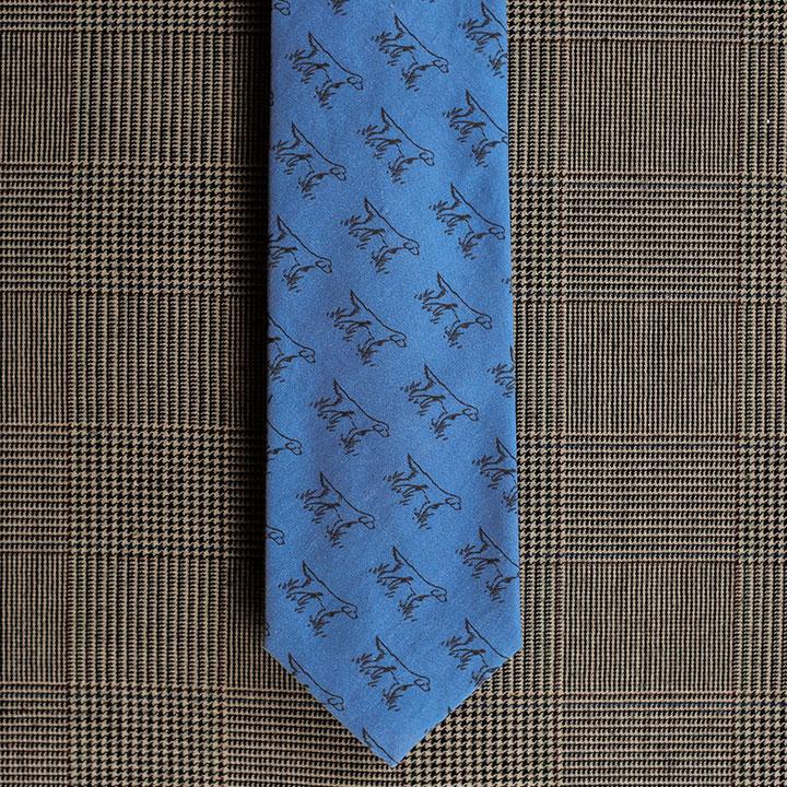 Setter Necktie (Blue)