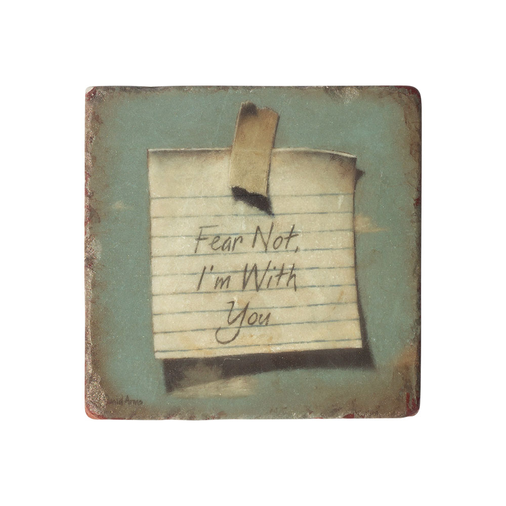 """Heaven's Little Reminder"" Marble Coaster"