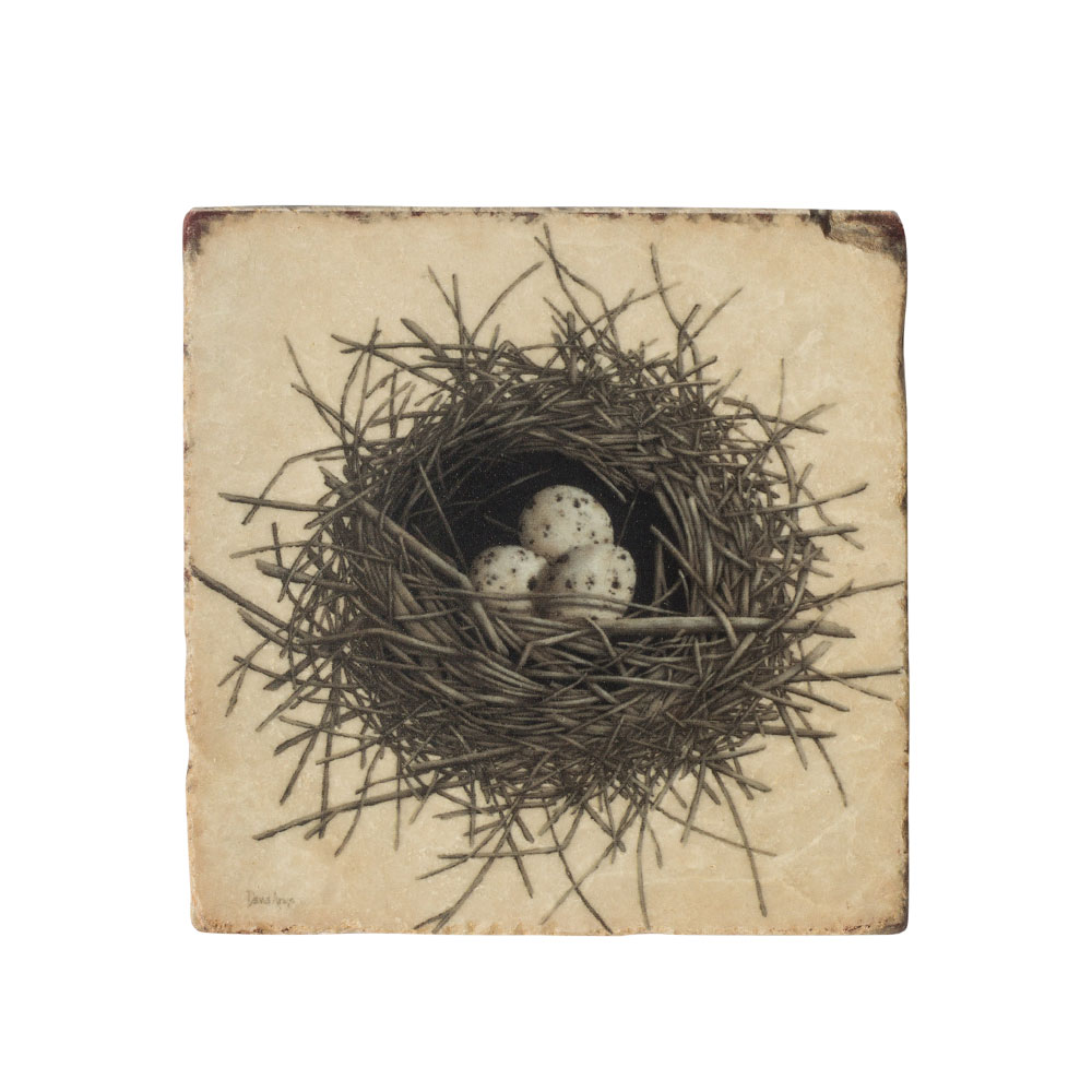 """Hope"" (Nest) Marble Coaster"