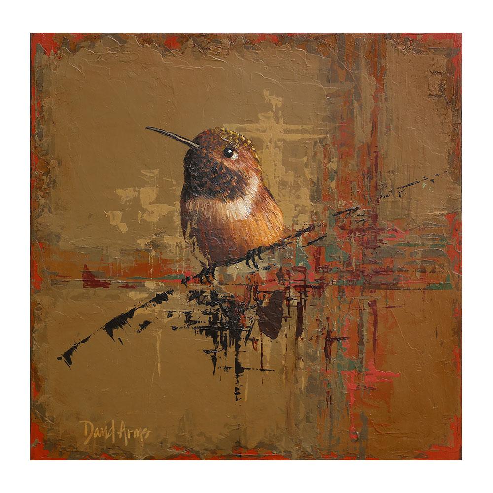 Hummingbird III • 10×10