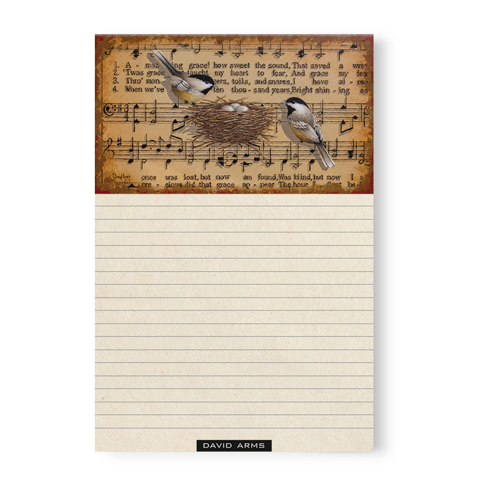 """Amazing Grace"" Notepad"