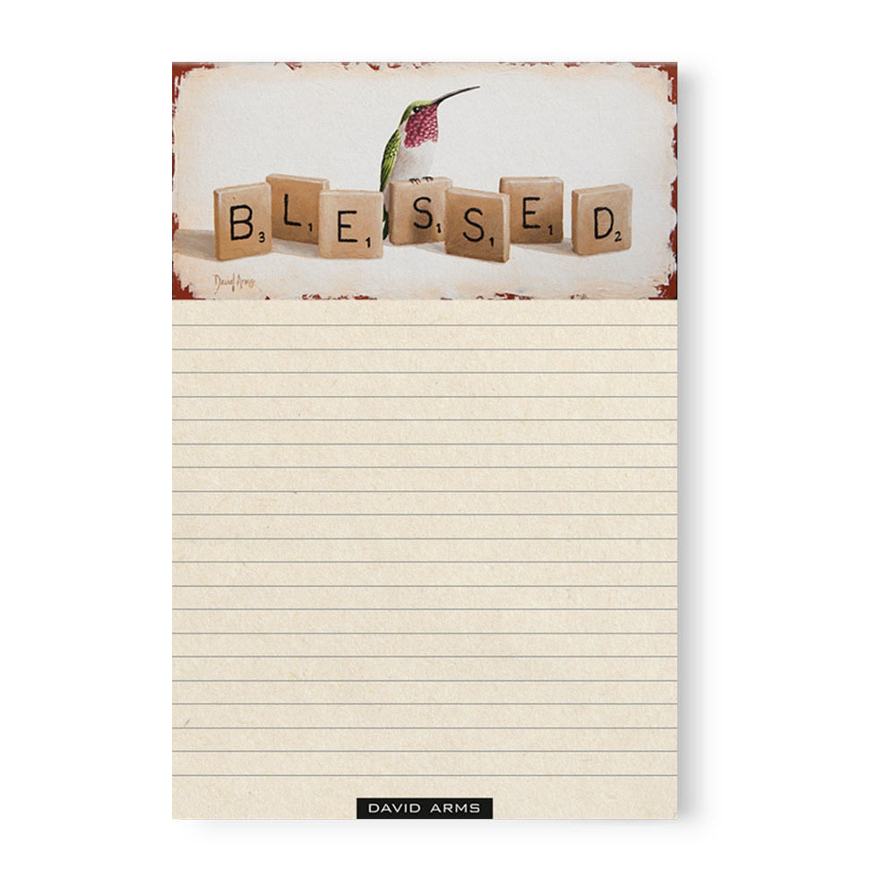 """Blessed"" Notepad"