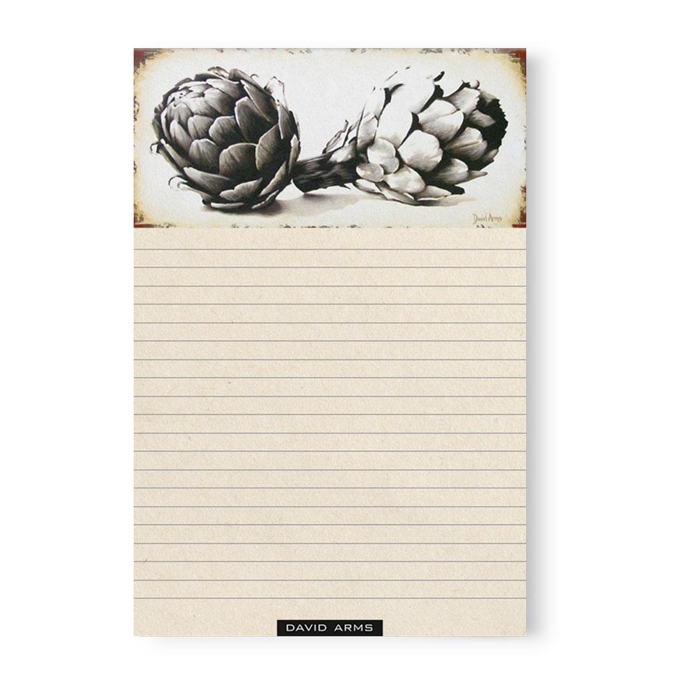 """""""Endurance"""" (artichokes) Notepad"""