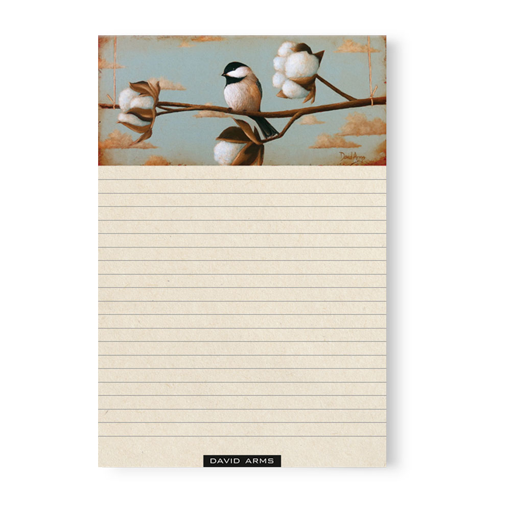 """Trust"" (cotton) Notepad"