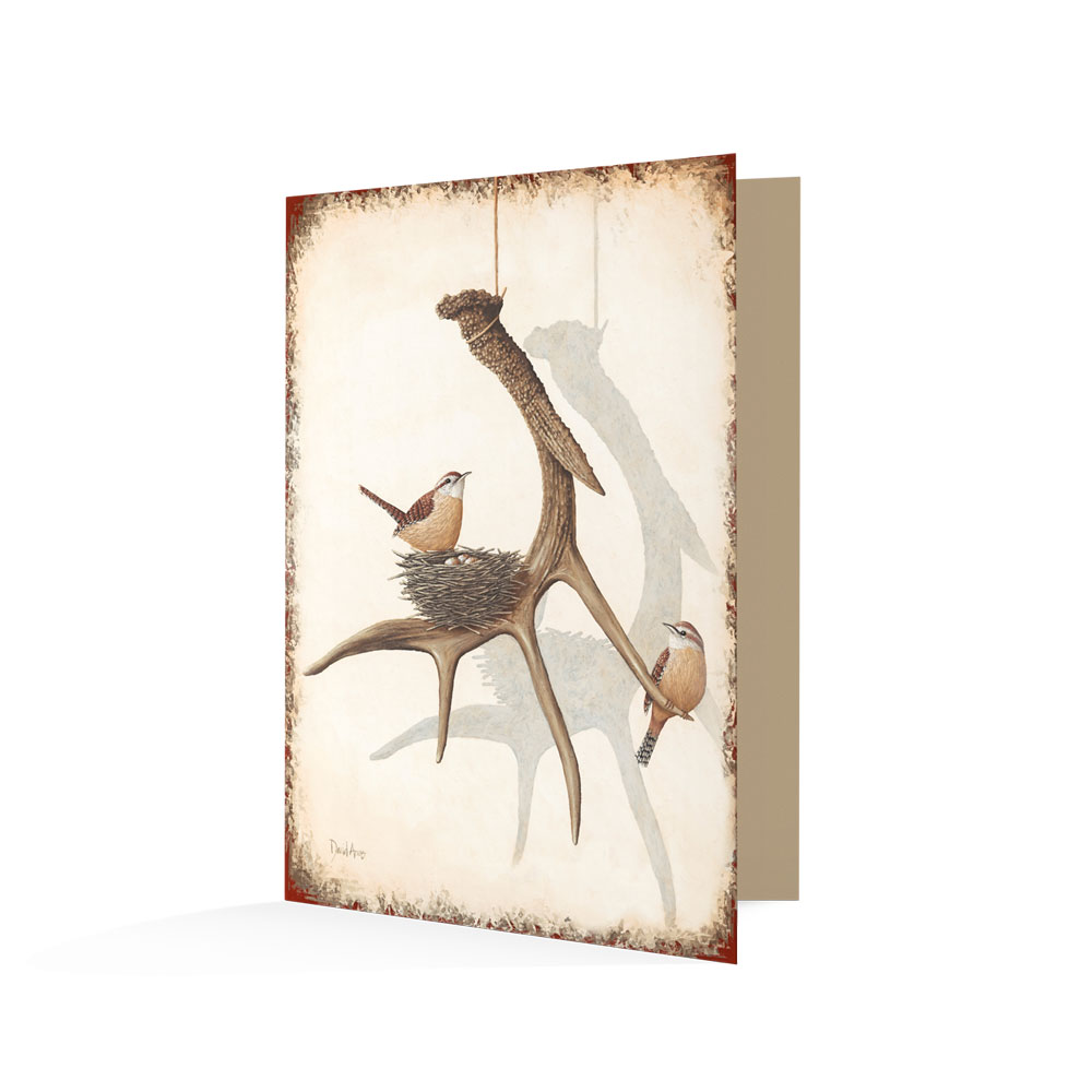"""Faith (Antlers)"" Notecards"